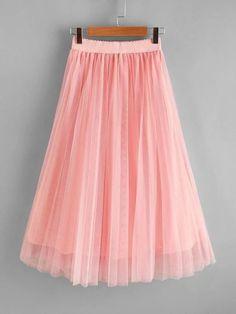 Girls Pleated Mesh Skirt – Kidenhouse Leopard Print Skirt, Floral Print Skirt, Stylish Dresses For Girls, Girls Dresses, Girl Skirts, Mesh Skirt, Pleated Skirt, Jeans Dress, Printed Skirts