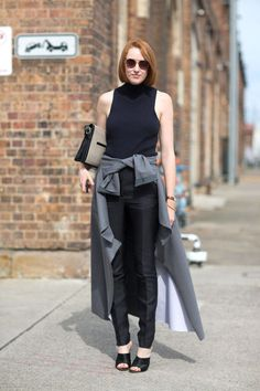 Street Style Australia Fashion Week Fall 2014 - Austrailian Fashion Week Fall Street Style