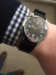 Pocket Watches, Wrist Watches, Watches For Men, Seiko Snk809, Seiko Mod, Luxury Watches, Daniel Wellington, Edc, Pilot