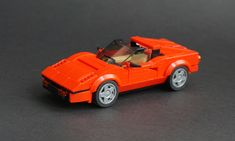 is a master of cars! This Ferrari 308 GTB is his next masterpiece Lego Cars, Lego Truck, Lego Wheels, Micro Lego, Lego Pictures, Lego Speed Champions, Cool Lego Creations, Lego Worlds, Lego Projects