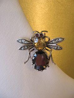 Circa 1900 Bee Pin.