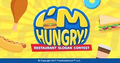 I'm Hungry! Restaurant Slogan Match Contest runs from Jan 25 - Feb 28, 2018. The winner wins 100 points. Participants earn 20 points.