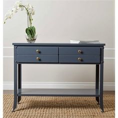 Shop for Abbyson 'Antoni' Antiqued Blue Console Sofa Table. Get free shipping at Overstock.com - Your Online Furniture Outlet Store! Get 5% in rewards with Club O! - 16981781