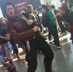 Great Star Lord/Peter Quill cosplay