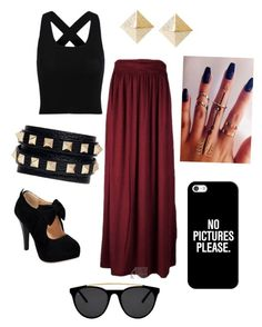 Untitled #128 by jadaxoxo12 on Polyvore featuring polyvore, fashion, style, Valentino, Casetify and Smoke & Mirrors
