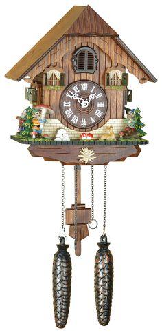 Chalet Cuckoo Clocks Cuckoo Clock Quartz-movement Chalet-Style 25cm by Trenkle Uhren