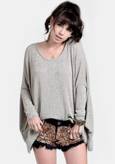 In Silence Marled Sweater 34.00 at