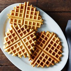 Socca Waffles. 1:1 Chickpea flour and water. So easy as a starch or in place of bread with dinner.