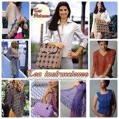 Mis Pasatiempos  Amo el Crochet: Accesorios de damas en crochet