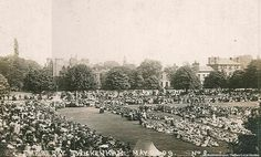 Twickenham Green on Empire Day 1909