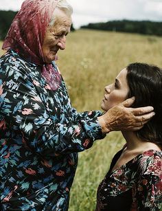 Photography by Michael Sanders, Czeh Gypsy (Elle Italia) This reminds me of Ruth and Naomi