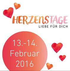 Vormerken! Am #Valentinstag 2016 haben wir ein #Date: Die #Herzenstage gehen in die nächste Runde! ❤️❤️❤️ Folgt uns auch auf instagram.com/herzenstage