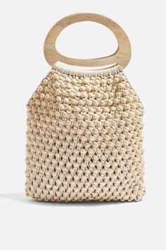 Perlenbesetzte Einkaufstasche - Sara Lotfy - #Einkaufstasche #Lotfy #Perlenbesetzte #Sara - Perlenbesetzte Einkaufstasche - Sara Lotfy