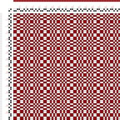 Weaving Draft Page 4, Figure 16, Donat, Franz Large Book of Textile Patterns, Germany, 1895, #24243