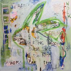 """Saatchi Art Artist Borg de Nobel; Painting, """"What If I Turn Around & Poop"""" #art"""
