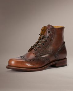 Arkansas Wingtip Boot - Men_Boots_Arkansas Collection - The Frye Company