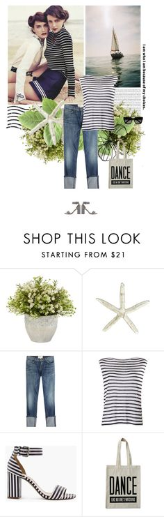 """""""For my sweety:"""" by lagomera ❤ liked on Polyvore featuring Oris, Nearly Natural, Current/Elliott, T By Alexander Wang, J.Crew, ALPHABET BAGS and Yves Saint Laurent"""