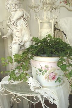 Shabby Chic love the rose