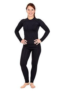 Women's Ski Underwear Set Seamless Sports Underwear--31.73