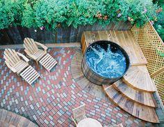 redwood hot tubs