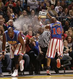 Big Easy Lofton and Scooter Christensen_Water bucket, Harlem Harlem Globetrotters, Future Weapons, Family Show, Los Angeles Area, Nashville Tennessee, World Famous, Family Adventure, Mom Blogs, Orange County