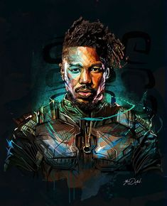 My paintings on the new film of the Marvel Cinema Universe: Black Panther.One of the new hero of the Avengers Team.I work a lot on the dynamism, the colors and iI tried to play on the african symbols. Marvel Comics, Marvel Fan, Mcu Marvel, Black Panther 2018, Black Panther Marvel, Black Panthers, Marvel Universe, Film Black, Captain America