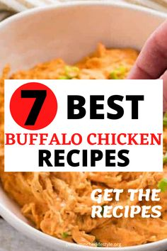 Buffalo Chicken Dip - The Best Ever - These easy buffalo chicken dip recipes tastes incredibly delicious! Makes the perfect appetizer to bring to any cookout, holiday party or family gathering! The best and easiest party appetizers to make any party a success! Easy make-ahead party appetizer recipes to feed a crowd! #dips #diprecipes #buffalochicken #buffalochickendip #appetizers #appetizerrecipes #crockpot #crockpotrecipes #crockpotappetizers #recipes #buffalochickendip #buffalodip… Best Party Appetizers, Best Appetizer Recipes, Cold Appetizers, Dip Recipes, Buffalo Chicken Dip Recipe, Chicken Dips, Healthy Chicken Recipes, The Best, Crowd