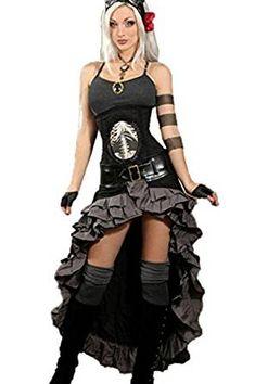 Dracula Clothing Rock Grey Steampunk Gypsy