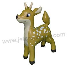 Inflatable Deer at theBIGzoo.com, a family-owned store. Check our sales & FREE Shipping.