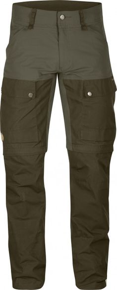 Prize-winning Keb Trousers, now with removable gaiters. Technically-advanced hiking pants with optimised fit and carefully-thought-through details. In warm weather the lower section of the leg can be taken off to turn the pants into shorts, just like a r Camping Pants, Hiking Pants, Men Hiking, Camping Gear, Outdoor Outfit, Outdoor Gear, Outdoor Stuff, Tactical Clothing, Tactical Wear