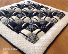 Baby Bubble Quilt Bubble Blanket Puff Quilt Baby by LuvinKatie