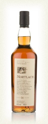 Another one that is unfortunately discontinued, albeit inexpensive - Mortlach 16 Year Old - Flora and Fauna series