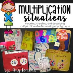 Looking for fun, engaging, and hands-on multiplication activities? This NEWLY REVISED unit has only that! There are no worksheets or drills, but only activities to help keep your kiddos engaged!