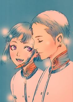 Dio and Lucciola from Last Exile by ~cicily on deviantART - face it Dio is never the same after Lucciola dies.