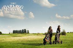 Hot girls gaming golf at the Darling cabaret party in Prague  #hotgirls #hot #girl #prague #golf
