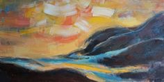 Original Oil Painting Landscape Painting door GeorgeMillerArt