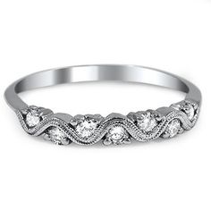 18K White Gold The Ziba Ring