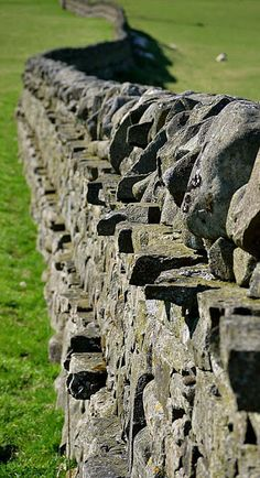 CABINET OF CURIOSITIES: Dry stone Walls