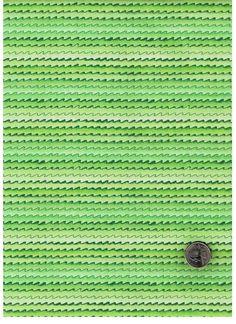 Cotton Quilt Fabric Good Ship Noah Wavy Stripes Green  - product image
