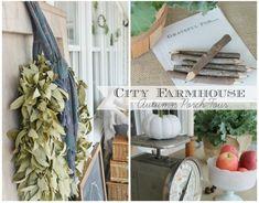 Seasons of Home-Autumn Porch Tour - City Farmhouse