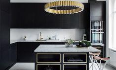 | Köksinspiration | Petra Tungården visar upp sitt nya kök från Ballingslöv och sin Lee Broom lampa! Kökslucka i Bistro Ask Brunbets.