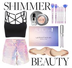 """""""#509"""" by x-michee-x on Polyvore featuring beauty, Manish Arora, Stila, Anastasia Beverly Hills and Chantecaille"""