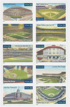 Classic baseball fields