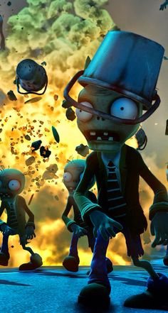 Plants vs Zombies - #games zombie iPhone wallpaper @mobile9