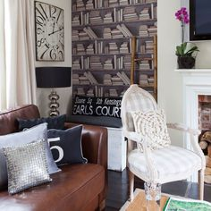 Cosy and quirky living room | Small living room ideas | housetohome.co.uk