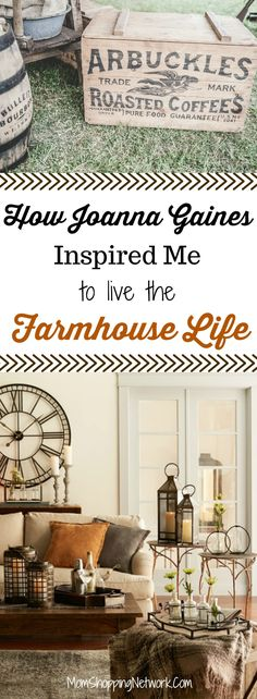 This is how Joanna Gaines Inspired Me to Live the Farmhouse Life- and You can too! Joanna Gaines | Fixer Upper | Farmhouse Life | Farmhouse Lifestyle | Fixer Upper Farmhouse Life| HGTV | Fixer Upper Inspiration | Fixer Upper Decor |Farmhouse Inspiration #farmhouse #joannagaines #fixerupper #hgtv