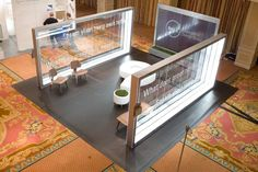 Image result for exhibition booth made out of paper