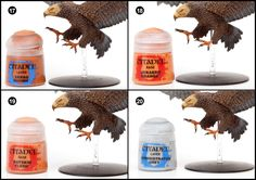 Tutorial: How to paint Great Eagles from the Hobbit