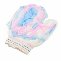 """Rosallini Cotton Mesh Bathroom White Yellow Shower Mitten Bath Glove by Rosallini. $4.30. Open Width : 9.2cm / 3.6"""";Material : Nylon, Cotton. Package Content : 1 x Bath Glove. Main Color : Yellow, White. Net Weight : 30g. Product Name : Bath Glove;Dimension : 20 x 16.5cm / 7.9"""" x 6.5""""(L*W). This bath glove is suitable for bathing, which is no harm to your skin.Sponge mesh on one side, glove style design for more comfortable to use.Refresh your blood and make your skin m..."""