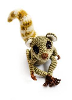 Zoomigurumi Sartu the Lemur crochet pattern